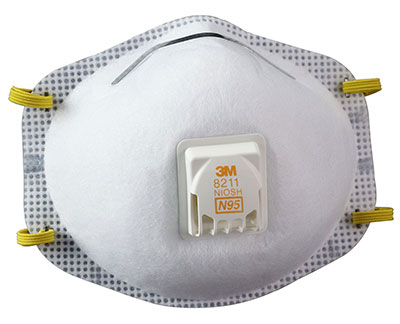 N95 Disposable Particulate Respirator Mask