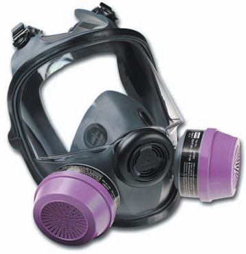 North 54001 Series Full Facepiece Mask Respirator
